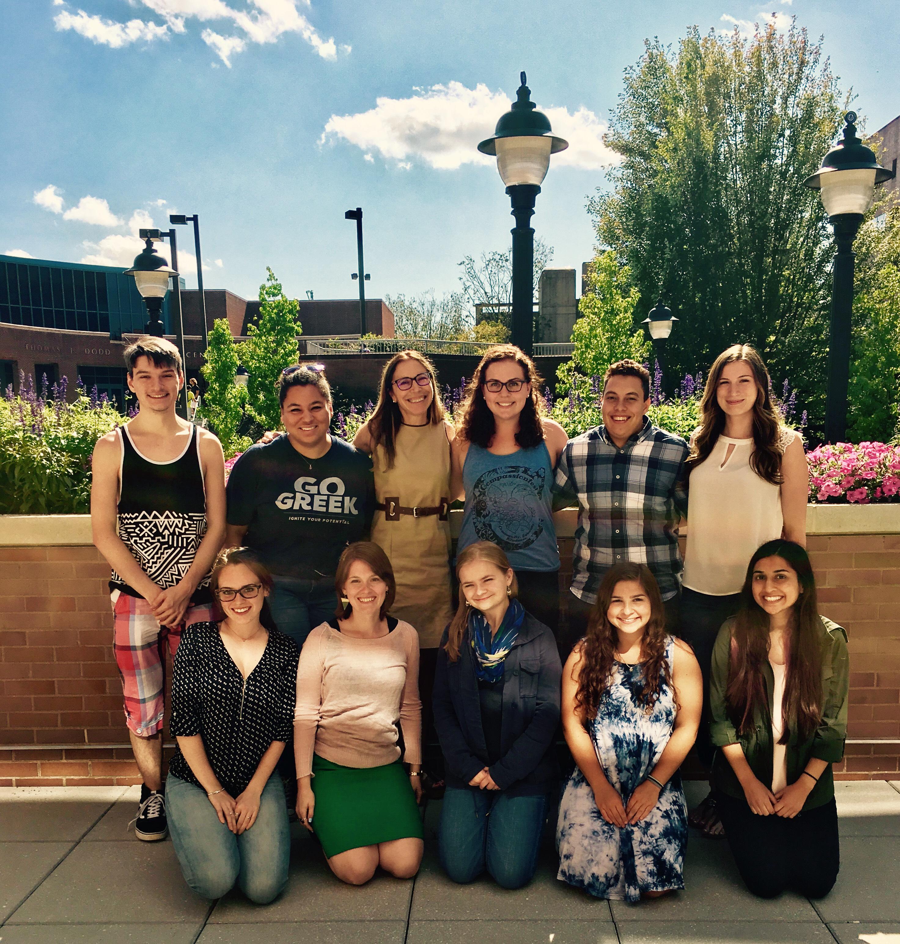 Meet the Fall 2017 Lab Team!